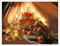 Дизайн новогодней открытки, MAR-design студия