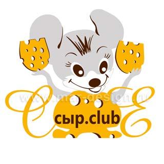 Дизайн логотипа на заказ для сырного бутика