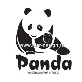 Дизайн логотипа для магазина Panda