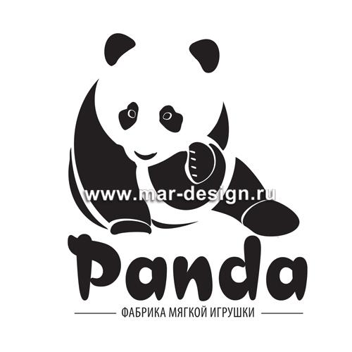 Дизайн логотипа Panda