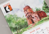 студия MAR-designна заказ эксклюзивные календари для компании СтройЭксперт