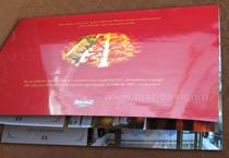 Дизайн брошюры для ресторанов Екатерининского дворца, Павловского Дворца, Петергофа.