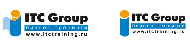 Рейстайлинг логотипа для консалтинговой компании. Слева - имеющийся логотип. Справа - рестайлинг логотипа.