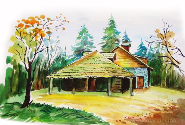 Молочный домик в Павловске