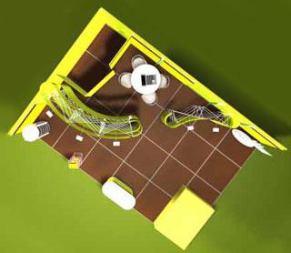 План выставки в 3D
