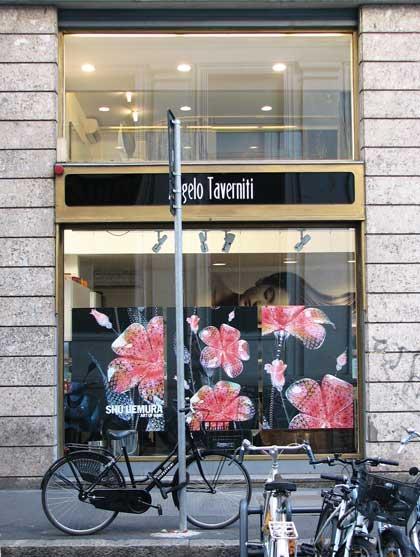 Милан, витрина галереи