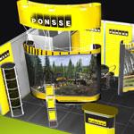Выставочный стенд Ponsse