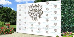 Дизайн стендов: свадебные баннеры, поздравительные плакаты